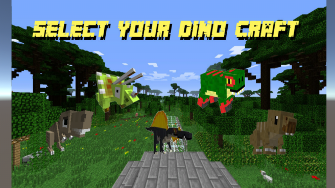 Dino -Craft- World-1